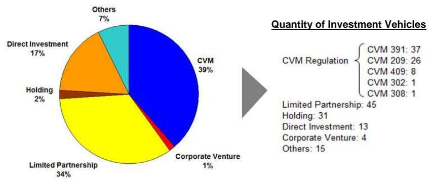Quantity of Investment Vehicles