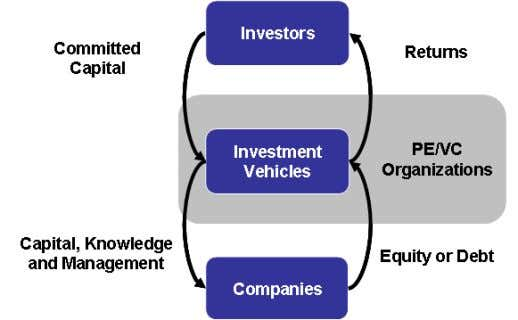 Private Equity and Venture Capital Industry Uses and Sources Variations exist in the traditional structure of