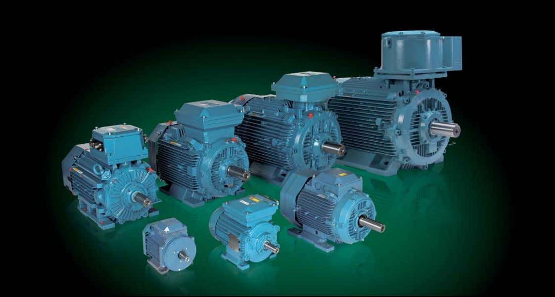 Catalog Low voltage Motors for explosive atmospheres