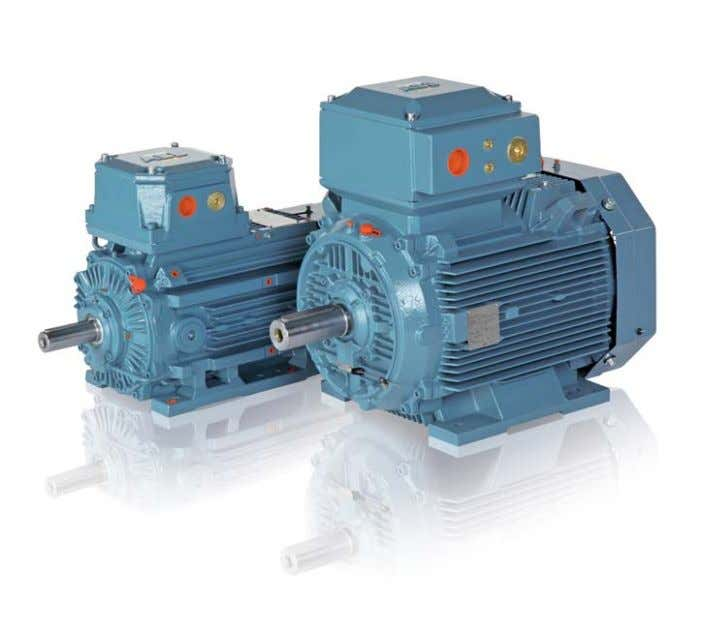 phase low voltage motors, Sizes 80 to 450, 0.55 to 710 kW www.abb.com/motors&generators > Motors for