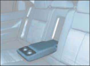 to withstand a weight of 9 lbs (4kg) on impact. 15-07-2002 Rear armrest This provides access