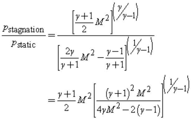 Note that this formula is valid only for Reynolds numbers R > 400 (using the