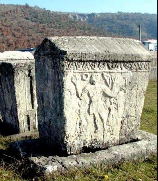 Figure 2. Radimlja in the vicinity of Stolac town is the most famous B&H necropolis