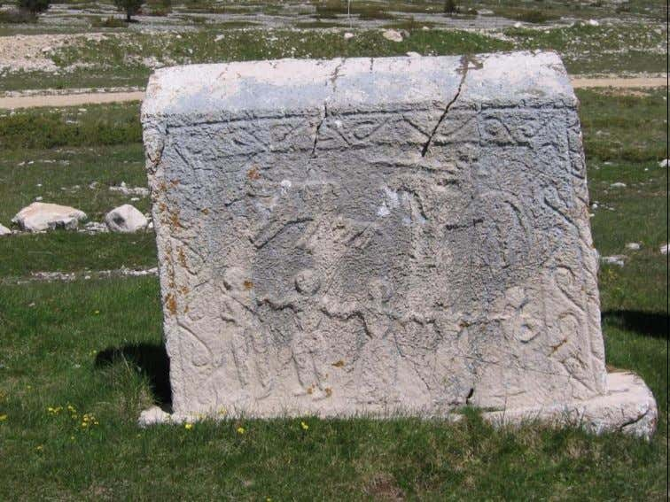 Figure 6. Tombstone in Blidinje, rich in ornaments, located north from Mostar, B&H