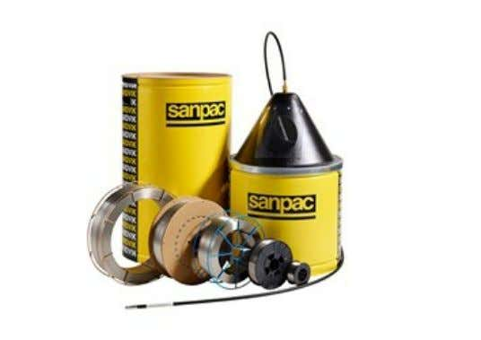 WELDING WIRE AND WELDING RODS Sandvik welding wire and rods are filler metals optimized for MIG