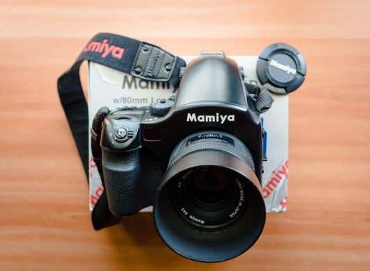 And if you're not doing anything wrong, there is no need My old Mamiya 645 AFD.