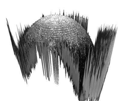 can be generated while losing higher frequency details. Any Figure 2: Reconstruction of a micro-sphere based