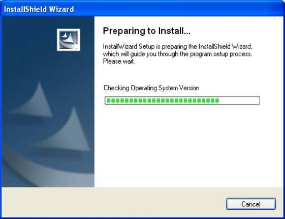 D-Link Systems, Inc. Click Installation Wizard . Please wait while the InstallShield Wizard prepares to install.