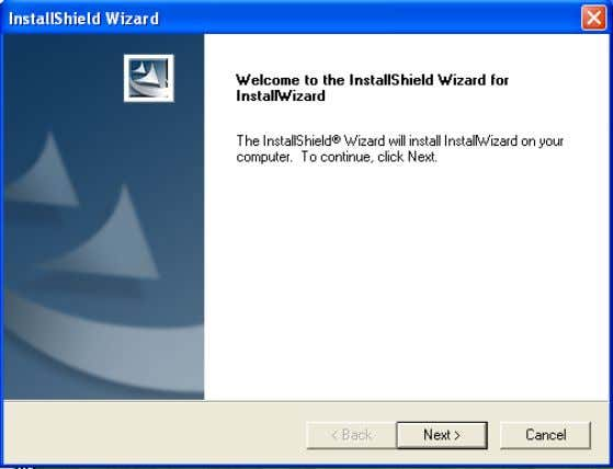 Installation Wizard D-Link Systems, Inc. Click Next . The InstallShield will install in the following folder.
