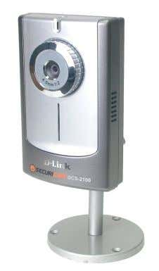 Package Contents D-Link Systems, Inc. Package Contents D-Link SECURICAM Network DCS-2100 Internet Camera Cat5