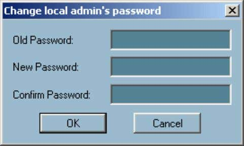 is implemented. The change password dialog looks like this: Autorun at Startup: Monitor: Playback: Users can