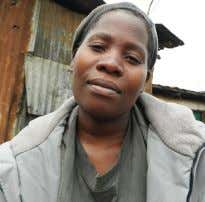 in Industrial area to buy kerosene. Pamela Adhiambo My family depends on the proceeds I get