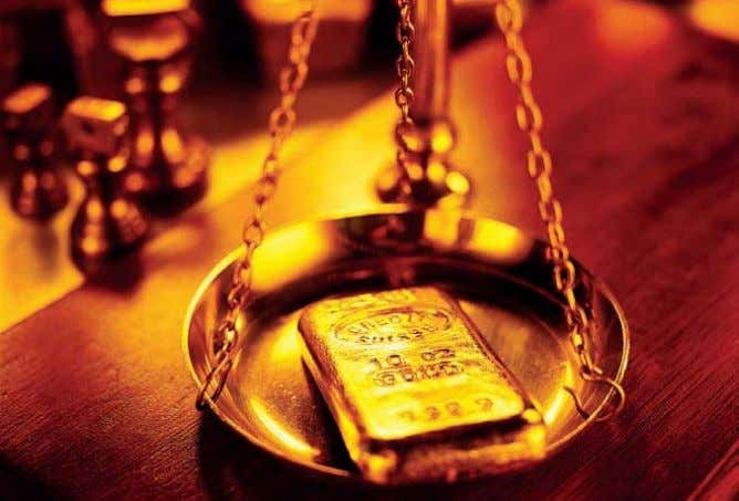 B Y LATE AUGUST the price of gold had climbed to a record $1890 an