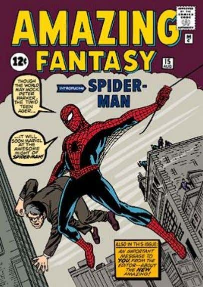 35 TM and © Marvel Characters, Inc., All Rights Reserved. Spider-Man's Debut This issue of Amazing
