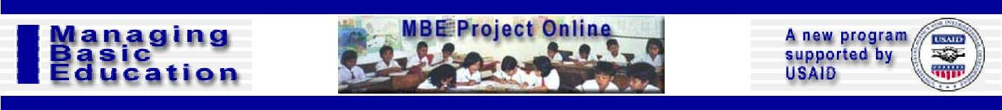 61 Inquiries to: Info@MBEProject.Net ENGLISH LANGUAGE • MBE HOME • Suara MBE 6 (OKT-04) MBE Mulai