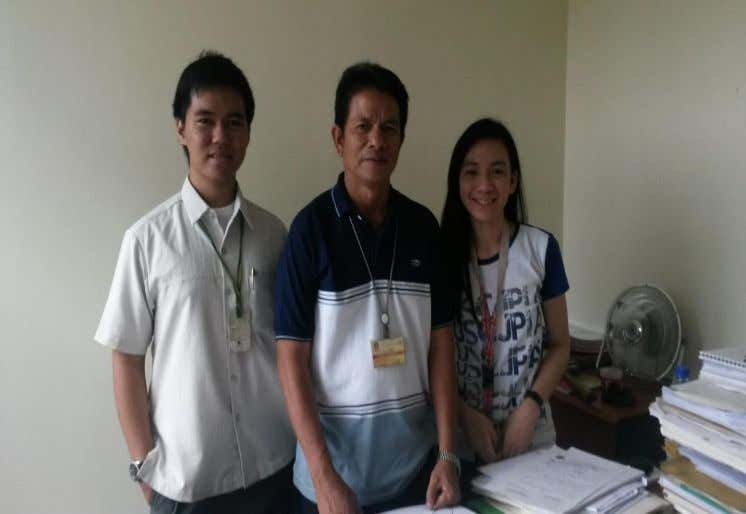 Picture taken with Mr. Randy Navarro of CENRO 66