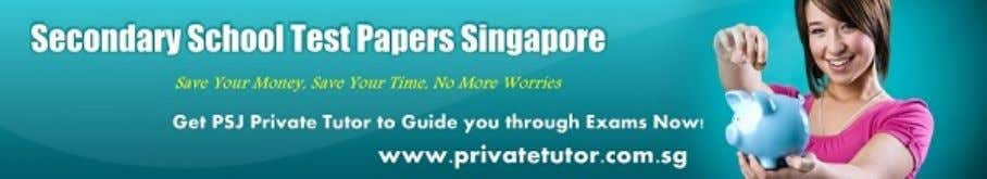 Looking for Good private tutor near you? Contact www.privatetutor.com.sg Now