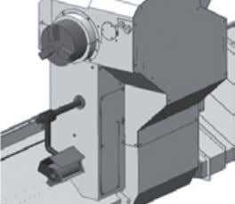 1 Receiving in Spindle 2 Workpiece unloader (Up / down type) Workpiece Receiving in Spindle 1