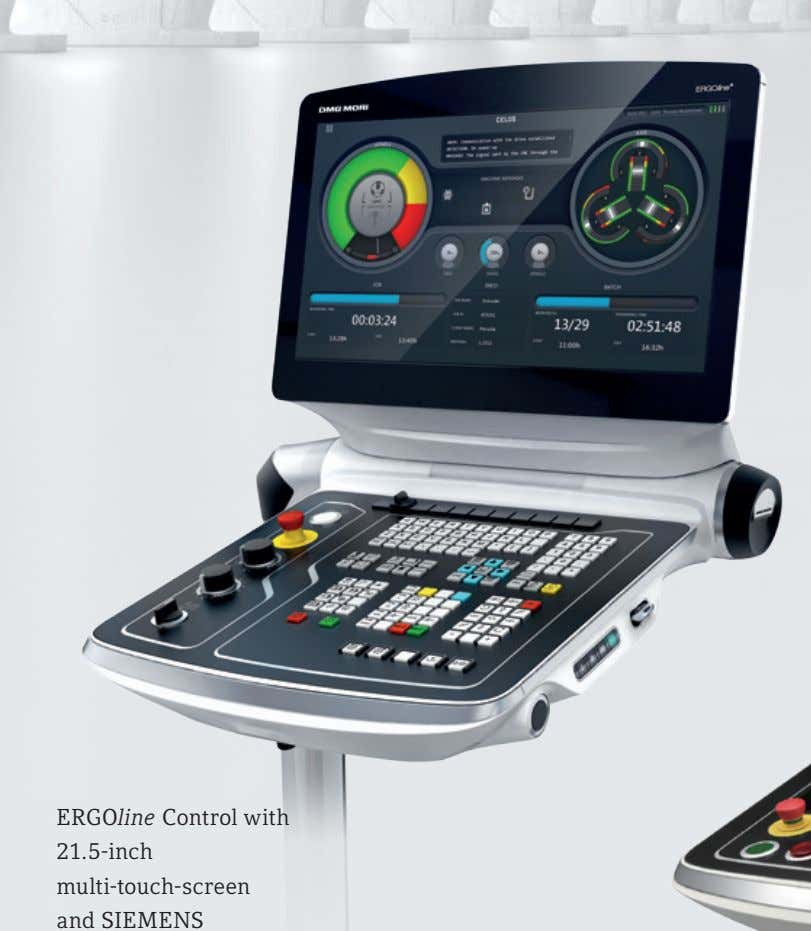 ERGO line Control with 21.5-inch multi-touch-screen and SIEMENS