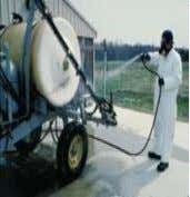 3. Clean and wash the machines and nozzles and store in dry place after use.