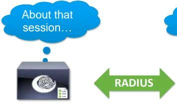 About that session… RADIUS
