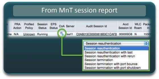 From MnT session report