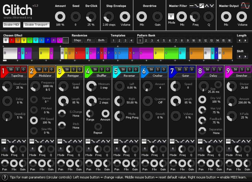Introduction. Overview. Main Features. • Realtime VST plug-in effect. • 32-bit internal precision. • 9 adjustable