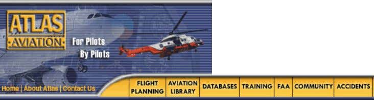 9/13/12 Atlas Aviation - Cessna 172 Checklist AVIATION LIBRARY Ownership and Operations Regulations & Rules UTC