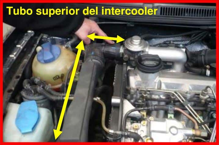 Tubo superior del intercooler