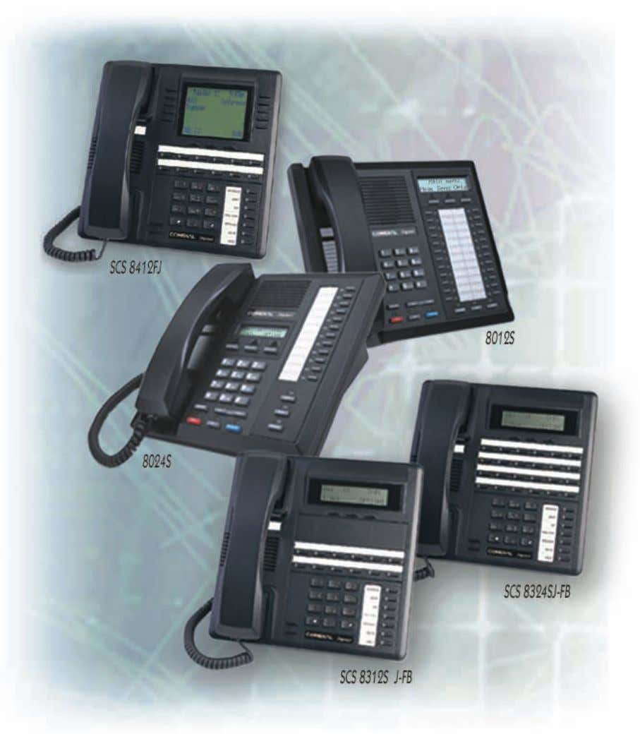 and FX Series Digital Communications Systems LCD Speakerphone Station User's Guide GCA70258.12 06/03 Printed in U.S.A.