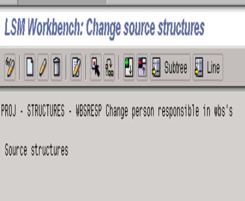 2. MAINTAIN SOURCE STRUCTURE • The system will then display a • CREATE icon. Click on