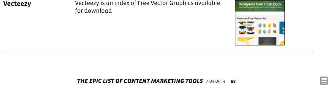 Vecteezy Vecteezy is an index of Free Vector Graphics available for download THE EPIC LIST OF