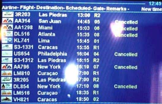 customer of the airport and the airline simultaneously. The September 11, 2001 led to cancellations and