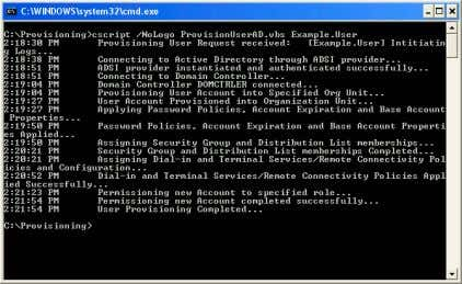 into Active Directory Using the Active Directory Script(s) (Approximately 4 minutes from start) The Active Directory