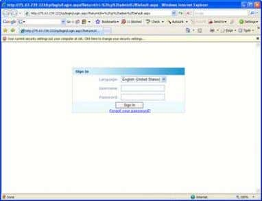 Account using the Control Panel 1 Accessing the web portal (Approximately 1 minute from start) The