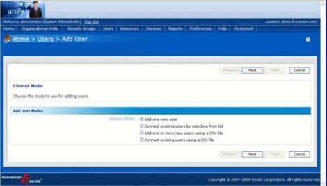 3 Starting the Provisioning 4 Configuring the account (Approximately 2 minutes from start) The provisioning