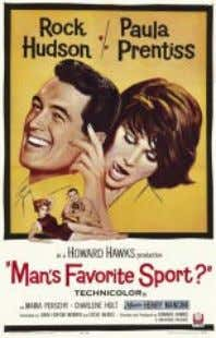 Man's Favorite Sport? (USA, 1964, 120 min.) Director: Howard Hawks Guión: John Fenton Murray &