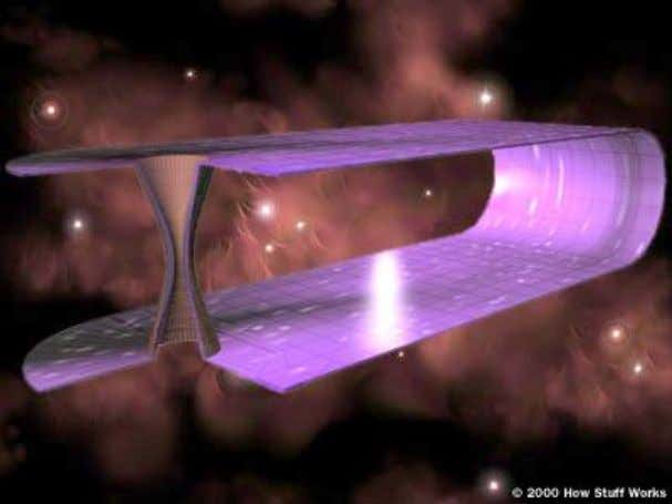on space-time to create a tunnel connecting distant points. Wormholes Theoretical Kerr black holes aren't the
