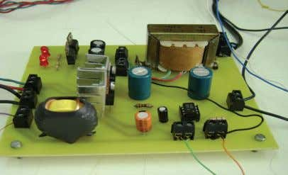 panel, - a DC voltage power supply, - two load resistances. Fig. 5. Photo of the