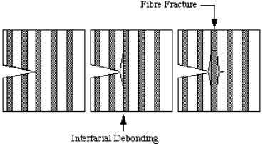 - Part 2 Interfacial Fracture - Fibre Matrix Debonding In a continuous fibre composite it is