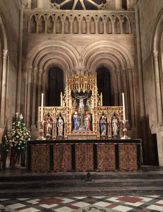 seen it before and was closed at night. (See pictures below) sacraments and the preaching of