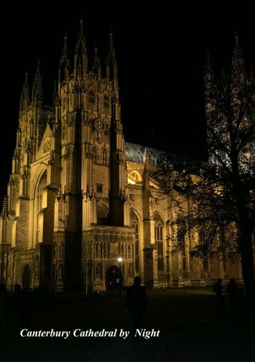 Canterbury Cathedral by Night