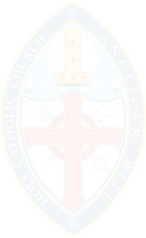 of Arizona And The Holy Catholic Church Anglican Rite We, the Bishops of the respective churches,
