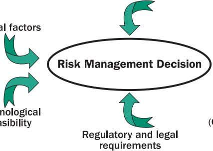 rich marine environment in the Strait of Juan de Fuca. Figure 3-1: Inputs to risk management