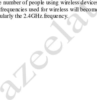 a wired network 'future proof' for future requirements • As the number of people using wireless