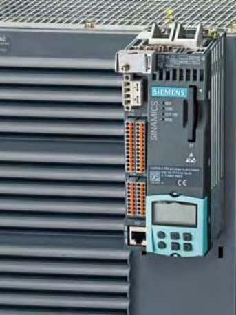 © Siemens AG 2011 SINAMICS S120 drive system 0.12 kW to 250 kW (0.16 hp