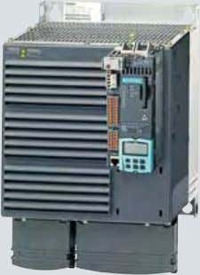 for supplying the motor are integrated in the Power Module. SINAMICS S120: PM340 Power Module in