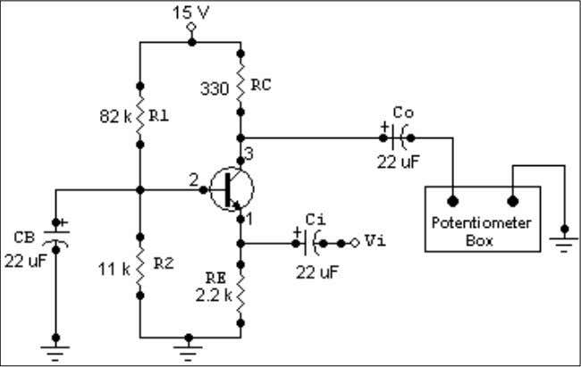 resistance: We connected the circuit shown in Figure 6-8. Figure 6-8 The we started to decrease