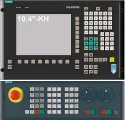 with mechanical keys, separate machine control panel Highlights ● All relevant functions at a gl ance,