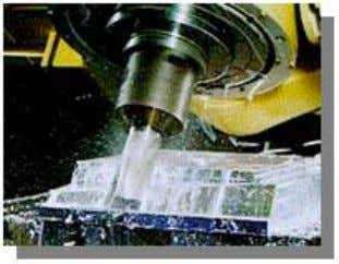 programming) ☑ Option: Five-axis machining package ● Shorter machining time while hobbing with face cutters